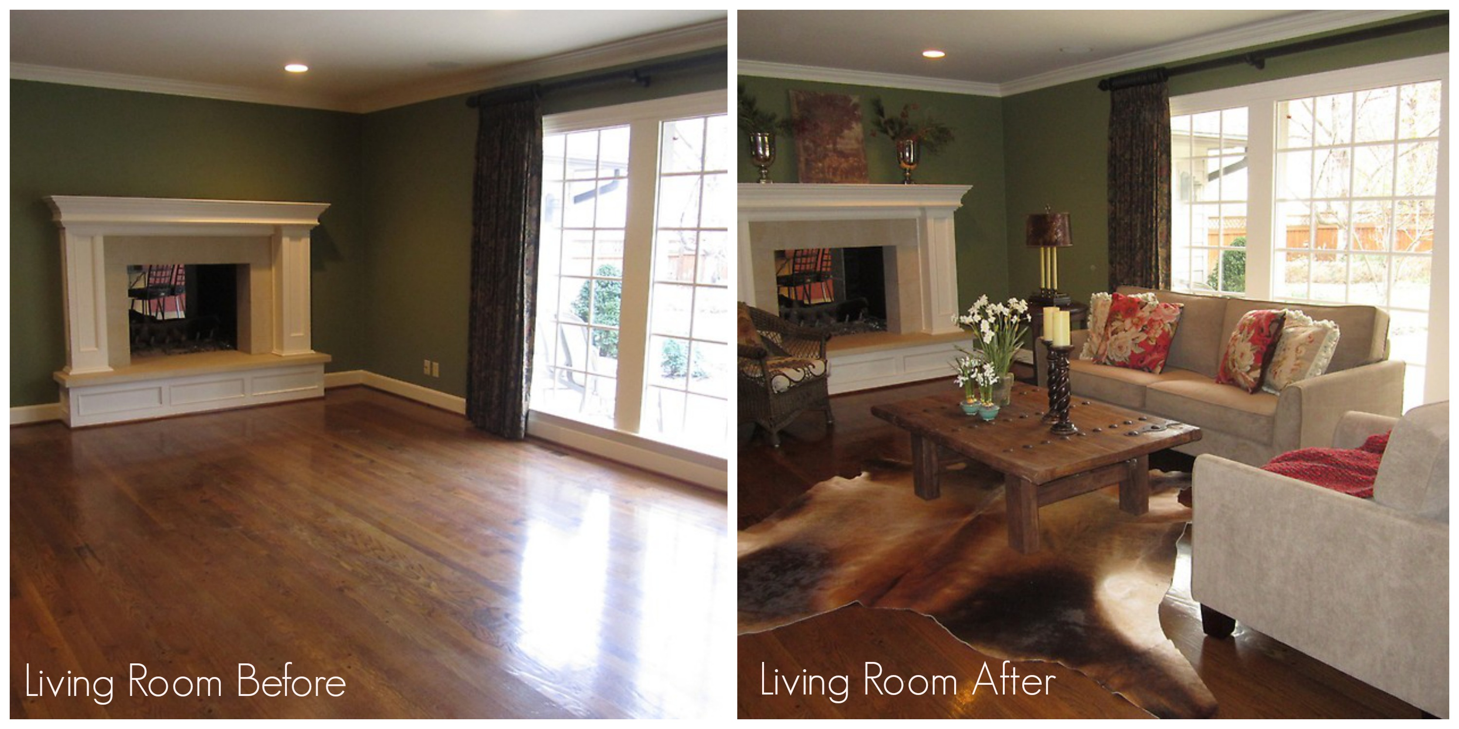 Home Staging Before and After Houston Texas 2